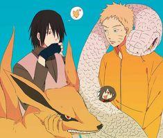 Naruto - Sasuke Uchiha x Naruto Uzumaki - SasuNaru Naruto Shippuden Sasuke, Sasunaru, Anime Naruto, Naruto Comic, Sarada Uchiha, Naruto Cute, Naruto Funny, Narusasu, Itachi