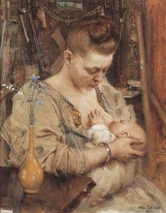 Madonna - Akseli Gallen-Kallela-1891