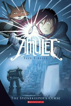 The Stonekeeper's Curse (Amulet, Book 2) by Kazu Kibuishi. $7.15. Publisher: GRAPHIX (September 1, 2009). Reading level: Ages 9 and up. Publication: September 1, 2009. Author: Kazu Kibuishi. Save 45% Off!