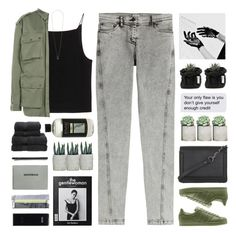 """//military green//"" by lion-smile ❤ liked on Polyvore featuring T By Alexander Wang, BCBGMAXAZRIA, Millefiori, Christy, Faith Connexion, Kenzo, HUGO, Topshop and Madewell"