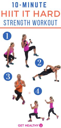 Get your heart pumping with this Tabata HIIT workout! It's a high intensity interval training routine that will leave you feeling the burn a Barre Workout Video, Barre Exercises At Home, 20 Minute Workout, Best Ab Workout, Hard Workout, Ab Workout At Home, Workout Videos, At Home Workouts, Butt Workouts