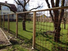 10 Endless Cool Ideas: Fence For Backyard Woods fence gate flowers.Garden Fencing On A Budget. Deer Fence, Front Yard Fence, Fence Art, Farm Fence, Fence Trees, Small Fence, Horizontal Fence, Fence Landscaping, Backyard Fences