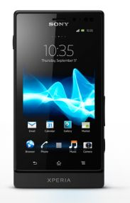 """Sony releases the Xperia Sola, click through for video. Features """"floating touch"""" screen: hover your finger above the screen, """"so it acts like a moving cursor"""" without ever having to actually touch the screen"""