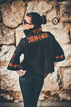 Ukraienian ethno style with embroidery, ethnic fashion… Folk Fashion, Ethnic Fashion, Hijab Fashion, African Fashion, Fashion Dresses, Womens Fashion, Mode Gipsy, Mode Russe, Moda Outfits