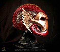 Asgardian Iron Man helmet................