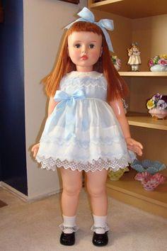 "Princess Peggy Doll by Horsman - Walker - Auburn/Redhead- 35"" Playpal Companion | #1808261012"