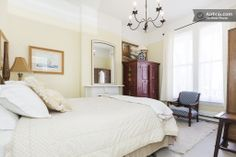 Mission 2 Bdrm 1890 Victorian Quiet & Lovely St - Apartments for Rent in San Francisco, California, United States Mission District, California Travel, Rental Apartments, Perfect Place, Condo, San Francisco, Victorian, Vacation, Bed