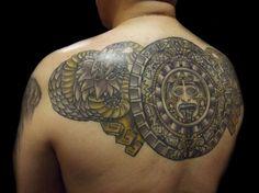 30 Perfect Mayan Tattoos