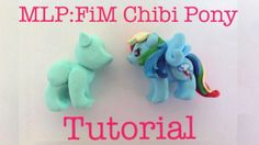 My Little Pony Chibi Charm Tutorial!  (。♥‿♥。) (+playlist)