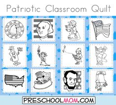 Social Studies Patriotic Symbols United States Symbols Art