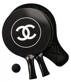 Chanel ping pong set.  Even I think this is stupid.
