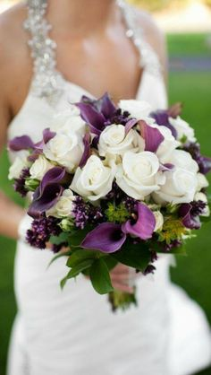Wedding flowers for bride.