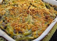 Green Bean Casserole - No Canned Onions or Soup. I don't know when green bean casserole became a Thanksgiving staple, but I'm sure glad it did. This recipe piqued my interest because it is wholly homemade - that's what I love about it. #ultimatethanksgiving