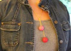 DIY Anthropologie Gumball Necklace - Henry Happened