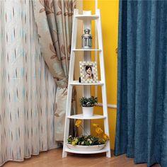Aliexpress.com: xin yu xian üzerinde Güvenilir raf ev tedarikçilerden basit ev ikea kıta odun depolama raf raflar raf kat köşe raf köşe dekoratif çerçeve katmanlı Satın Alın