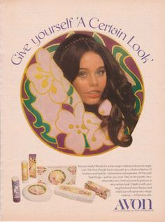 SUSAN DEY AVON AD 1970 Vintage Magazine Advertisement Page PARTRIDGE FAMILY Day