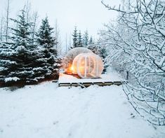 Your Guide to 15 Winter Glamping Sites Around the World | Buubble