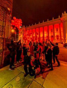 Orange night: A crowd gathered as the Launceston Town Hall turned orange for Fragile X awareness. Picture: Scott Gelston. Fragilex