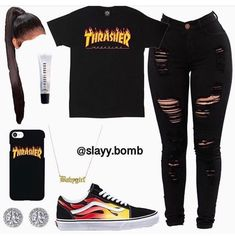 baddie outfits for school Swag Outfits For Girls, Cute Lazy Outfits, Cute Swag Outfits, Teenage Girl Outfits, Trendy Outfits, Cute Outfits For School For Teens, Baddie Outfits Casual, Boujee Outfits, Teen Fashion Outfits