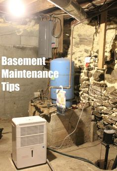 We've been working on our basement this summer so I'm sharing these basement maintenance tips with you today in case you have the same projects on your list ad DIY house upgrades and repairs for handy moms. Great DIY idea for any homeowners.