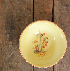 another Edwin Knowles cottage dish, USA, 1930s. | Vintage Plates ...
