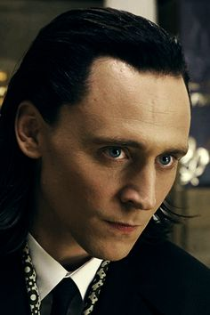 Bad-ass Loki is bad-ass. (Yes, Pintrest. Already pinned this. Don't even care.)