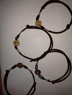 21 gun solute. Bracelets made from military funeral shot gun shells