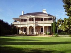 Farmhouse australian south australia ideas for 2019 Australia House, South Australia, Old Mansions, Mansions Homes, Colonial House Exteriors, Farmhouse Remodel, Farmhouse Interior, Homestead House, Australian Architecture