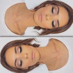 Beautiful makeup.