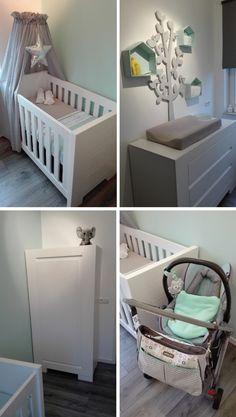 .. Babykamer Mint voor een jongen