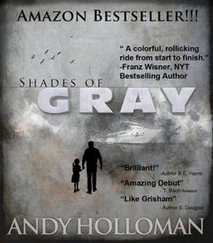 """""""Shades of Gray,"""" an action thriller, is today's highest-rated free Kindle book. Find it and the rest of today's free Kindle books at http://fkb.me"""