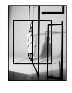 """""""when one door is closed, don't you know, another is open"""", pinned by Ton van der Veer #Design Instalation Art, Exhibition Space, Display Design, Stage Design, Retail Design, Visual Merchandising, Geometric Shapes, Bauhaus, Art Direction"""