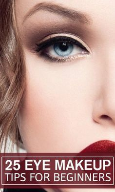 I am writing this article for all those who are just beginning to experiment with eye makeup.