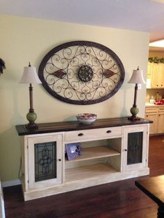 Grand Champion Planked Sideboard from Ana White blog....
