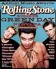 Green Day-- they started my love of punk music in junior high.  I love them still today!
