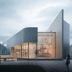 "Design&Live: ""Art Museum design by Ioan Ralea-Toma  #designandlive"""