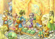 Fantasy market, Ryuutama - Google Search
