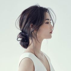 Korean Beauty Beauty- - - # korean Hairstyles step by step Official Hairstyle, My Hairstyle, Cute Hairstyles For Short Hair, Bride Hairstyles, Korean Hairstyles, Korean Hairstyle Long, Japanese Hairstyles, Ulzzang Hairstyle, Redhead Hairstyles