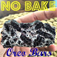 No bake oreo bars! Only 3 ingredients
