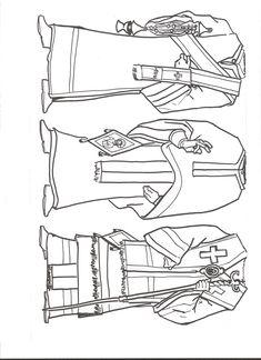 vestiduras litrgicas de diacono presbitero y obispo more information more information myrrhbearers icon coloring page