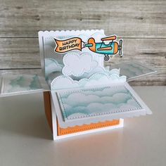 Image result for lawn fawn scalloped box card pop up