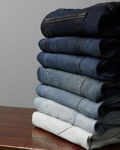 The fastest way to update your look this summer? A new pair of jeans--available now in new fits, colors, & washes.