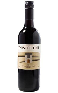 Thistle Hill Preservative Free Shiraz 2012 Mudgee   #thistlehillwines #preservativefreewines #shiraz #wines Thistle Hill, Wine Label, Preserves, Wines, Bottles, Free, Preserve, Preserving Food
