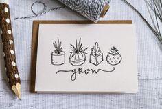 Succulentes par Light Rust Studio