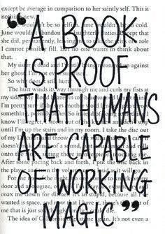 All in a book...