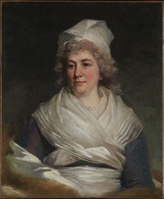 Sarah Franklin Bache, 1793, daughter of Benjamin Franklin, one of the United States' Founding Fathers.