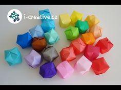 Návod jak složit origami nafukovací balónky | i-creative.cz - Inspirace, návody a nápady pro rodiče, učitele a pro všechny, kteří rádi tvoří.
