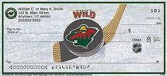 Minnesota Wild(R) NHL(R) Personal Checks