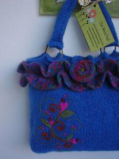 Ravelry: MoniqueRae's Felted purse