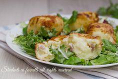 Polpette ricotta e patate con speck
